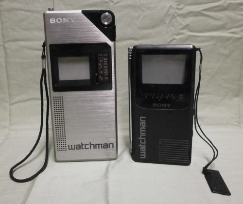 sony watchman portable tv