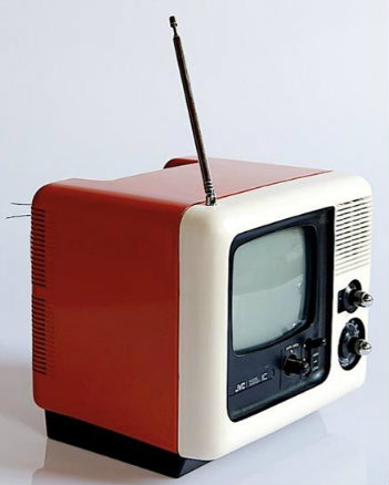 jvc cube tv set